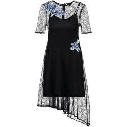 Sukienki hiszpanki: Topshop FLOWER  Sukienka koktajlowa black