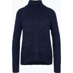 Swetry klasyczne damskie: Apriori – Sweter damski z dodatkiem moheru, niebieski