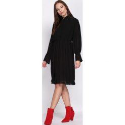Czarna Sukienka Acquiescence. Czarne sukienki hiszpanki Born2be, s, midi. Za 84,99 zł.