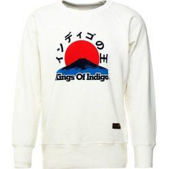 Kings Of Indigo PARNELL Bluza off white. Białe bluzy męskie Kings Of Indigo, m, z bawełny. Za 419,00 zł.