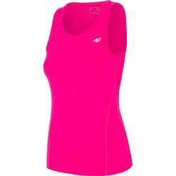 Odzież sportowa damska: Top treningowy damski TSDF302 - różowy neon