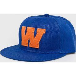 True Spin - Czapka. Niebieskie czapki z daszkiem męskie marki True Spin, z bawełny. Za 49,90 zł.