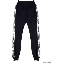 Spodnie dresowe damskie: stamina black pants