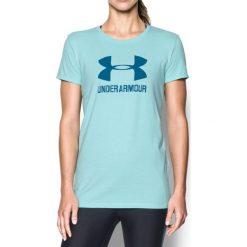 Under Armour Koszulka damska Sportstle Crew niebieski r. XS (1298611-942). Niebieskie topy sportowe damskie marki Under Armour, xs. Za 99,90 zł.