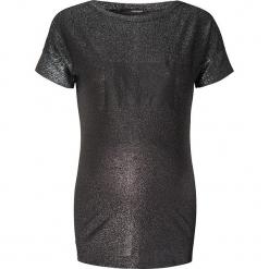Koszulka ciążowa w kolorze antracytowym. Szare bralety Noppies Women, xxs, z okrągłym kołnierzem, moda ciążowa. W wyprzedaży za 78,95 zł.