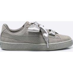 Puma - Buty Suede Heart Pebble Wn's. Szare buty sportowe damskie marki Puma, z materiału. W wyprzedaży za 299,90 zł.