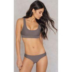 Bikini: Rebecca Stella Sportowy dół bikini - Brown,Purple