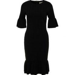 MICHAEL Michael Kors FLARE  Sukienka dzianinowa black. Czarne sukienki dzianinowe marki MICHAEL Michael Kors, xs. Za 989,00 zł.