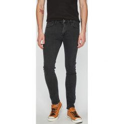 Lee - Jeansy Malone. Szare jeansy męskie skinny Lee, z bawełny. Za 299,90 zł.