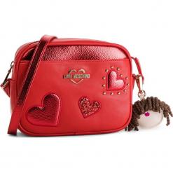 Torebka LOVE MOSCHINO - JC4060PP17LF0500 Rosso. Czerwone listonoszki damskie Love Moschino, ze skóry ekologicznej, na ramię. Za 719,00 zł.