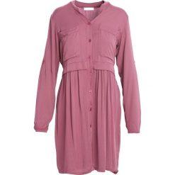 Fioletowa Sukienka Winner's Day. Fioletowe sukienki marki Born2be, s, z koszulowym kołnierzykiem, koszulowe. Za 79,99 zł.