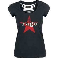 Rage Against The Machine Vintage Rage Star Koszulka damska czarny. Czarne bluzki damskie Rage Against The Machine, m, z nadrukiem, retro, z dekoltem na plecach. Za 99,90 zł.