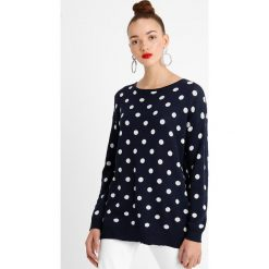 Swetry klasyczne damskie: b.young OFIRO DOT Sweter blue
