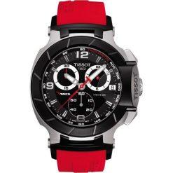 PROMOCJA ZEGAREK TISSOT Touch Collection T048.417.27.057.01. Czarne zegarki męskie TISSOT, ze stali. W wyprzedaży za 1931,60 zł.