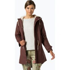 Derbe - Damska kurtka funkcyjna – Travel Cozy Friese, brązowy. Brązowe kurtki damskie marki Derbe. Za 649,95 zł.