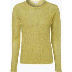 Marie Lund - Sweter damski z lnu, zielony. Zielone swetry klasyczne damskie Marie Lund, xxl. Za 229,95 zł.