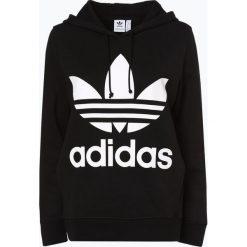 Adidas Originals - Damska bluza nierozpinana, czarny. Czarne bluzy rozpinane damskie adidas Originals, z nadrukiem, z bawełny. Za 309,95 zł.