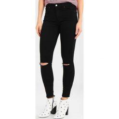 Topshop Jeans Skinny Fit black. Czarne rurki damskie Topshop. Za 229,00 zł.