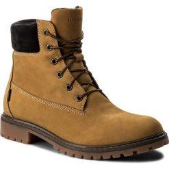Buty zimowe męskie: Trapery BADURA - 4602-F Żółty 371