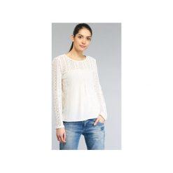 Bluzki Desigual  GERZA. Szare bluzki damskie marki Desigual, l, z tkaniny, casualowe, z długim rękawem. Za 279,20 zł.