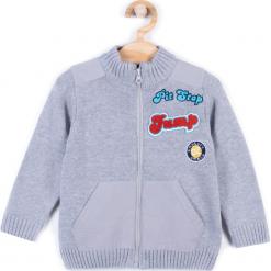 Sweter. Szare swetry chłopięce HEY BOY, z bawełny. Za 49,90 zł.