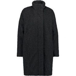 Płaszcze damskie pastelowe: Samsøe & Samsøe HOFF Płaszcz wełniany /Płaszcz klasyczny black melange