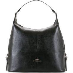Torebka damska 15-4-209-1J. Czarne torebki klasyczne damskie Wittchen, w paski. Za 479,00 zł.