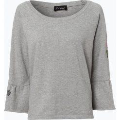 Bluzy damskie: Grace - Damska bluza nierozpinana, szary