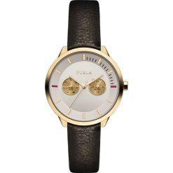 Zegarek FURLA - Metropolis 866633 W W480 WU0 Onyx/White 024. Czarne zegarki damskie Furla. Za 915,00 zł.