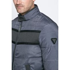 Guess Jeans - Kurtka. Szare kurtki męskie marki Guess Jeans, l, z aplikacjami, z bawełny. W wyprzedaży za 499,90 zł.