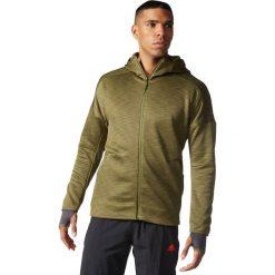 Bluzy męskie: Adidas Bluza męska Z.N.E. FZ Hood Climaheat zielona r. M (S94830)