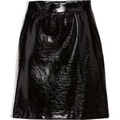 Spódnice wieczorowe: Spódnica metaliczna bonprix czarny metaliczny