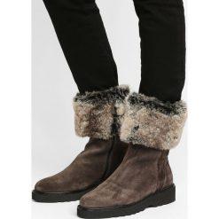 Buty zimowe damskie: Aquatalia KELLY Śniegowce dark grey