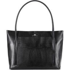 Torebka damska 15-4-206-1J. Czarne torebki klasyczne damskie marki Wittchen, duże. Za 599,00 zł.