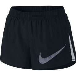 Szorty damskie: spodenki do biegania damskie NIKE DRY SHORT CITY CORE / 831565-010 - NIKE DRY SHORT CITY CORE