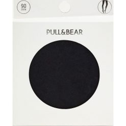 Rajstopy basic 90 DEN. Czarne pończochy i rajstopy Pull&Bear. Za 29,90 zł.
