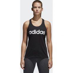 Bluzki asymetryczne: Adidas Koszulka ESS LI SLI Tank Czarny r. L (S97209)