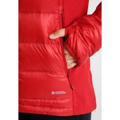 Bergans MYRE  Kurtka puchowa red. Czerwone kurtki damskie puchowe Bergans, s, z materiału. W wyprzedaży za 557,40 zł.