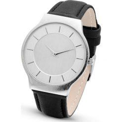 Zegarki damskie: Zegarek na rękę bonprix czarno-srebrny kolor
