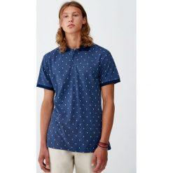 Koszulka polo z piki w palmy. Zielone koszulki polo marki Polo Club, m, z haftami, z krótkim rękawem. Za 69,90 zł.
