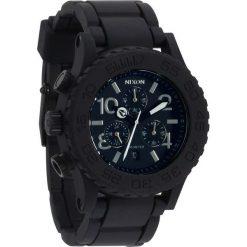 Zegarek unisex Black Nixon 42-20 Chrono Rubber A3091000. Zegarki damskie Nixon. Za 1331,00 zł.
