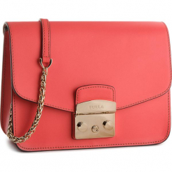 Torebka FURLA - Metropolis 962718 B BNF8 VFO Ibisco e. Czerwone torebki klasyczne damskie Furla, ze skóry. W wyprzedaży za 1079,00 zł.