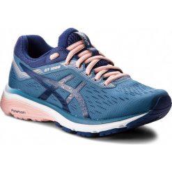 Buty ASICS - GT-1000 7 1012A030  Azure/Blue Print 400. Niebieskie buty do biegania damskie marki Asics, z materiału. W wyprzedaży za 349,00 zł.