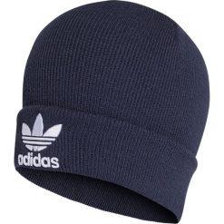 Czapka adidas Originals Trefoil Beanie (BK7639). Niebieskie czapki zimowe damskie marki Adidas, na zimę, z materiału. Za 79,99 zł.