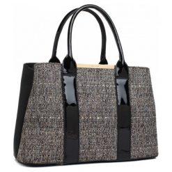Bessie London Torebka Damska Evelyn, Czarna. Czarne torebki klasyczne damskie Bessie London. Za 249,00 zł.