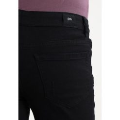 Jeansy męskie regular: Sixth June INSIDE BIKER PATCH & DESTROYED KNEES Jeansy Slim Fit black
