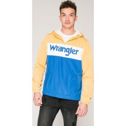Wrangler - Kurtka. Szare kurtki męskie przejściowe marki Wrangler, m, z materiału, z kapturem. W wyprzedaży za 239,90 zł.