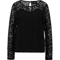 Object OBJLACE TOP Bluzka black. Czarne topy damskie Object, xs, z materiału. W wyprzedaży za 134,10 zł.