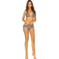 """Stroje kąpielowe damskie: Figi bikini """"Animal Print"""" w kolorze czarnym ze wzorem"""