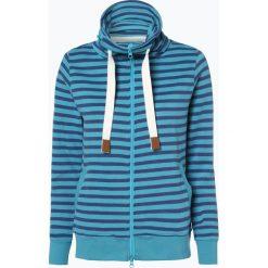 Franco Callegari - Damska bluza rozpinana, niebieski. Niebieskie bluzy rozpinane damskie Franco Callegari, w paski, z dresówki. Za 179,95 zł.